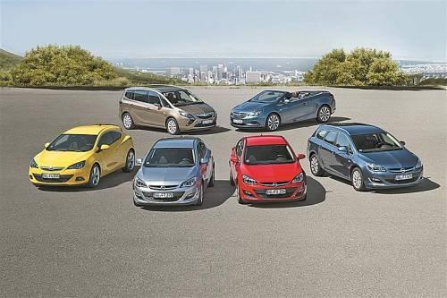 Opels neuer 1,6-Liter-Turbo-Benziner treibt die Astra-Baureihe, den Cascada und den Zafira Tourer an. Fotos: werk