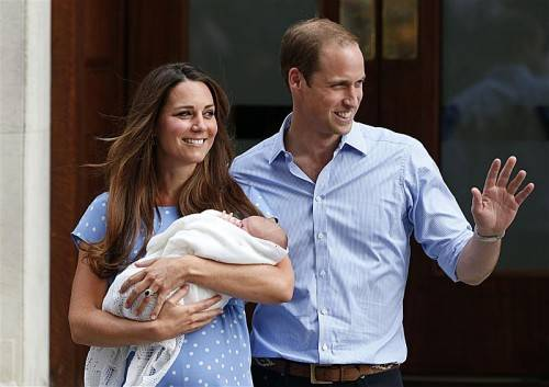 Diesmal soll Catherine sogar Zwillinge erwarten. Foto: AP