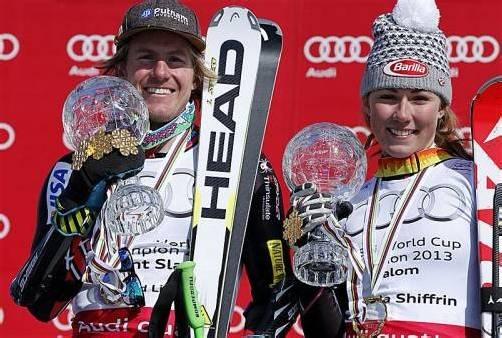 Skirennläufer Ted Ligety fährt mit Head-Ski von Sieg zu Sieg. Foto: AP