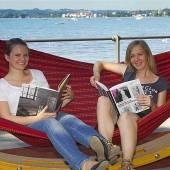 Lesewohnzimmer am Bodensee