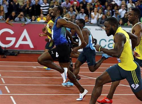 Superstar Usain Bolt hat die WM-Revanche über 100 Meter nur mit viel Mühe gewonnen. Foto: Reuters