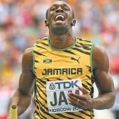 Bolt holte Triple bei den WM