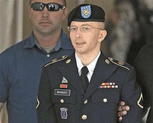 Von 136 auf 90 Jahre Höchststrafe für Informant Manning. Foto: AP