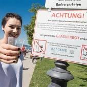 Glasverbot braucht immer noch Kontrollen