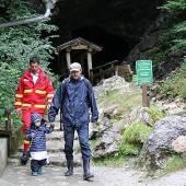 26 Menschen saßen in Salzburger Höhle fest