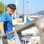 Helfer der Bootsfahrer