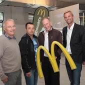 Rankweil: McDonalds hatte Grund zum Feiern