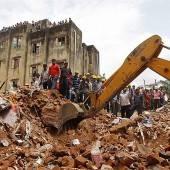 Mindestens elf Tote bei Hauseinsturz in Indien