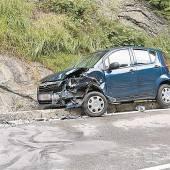Verletzte bei Unfall im Schwarzachtobel