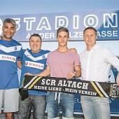 Rückkehr des Ex-Trainers nach Lustenau