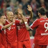Alaba trifft für FC Bayern