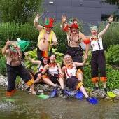 Erstes Seenachtsfest in Haselstauden