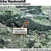 Vermisste Wanderin (70) verunglückte tödlich