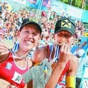 Gold für Schwaiger-Schwestern Triumph bei der Beachvolleyball-EM /c1