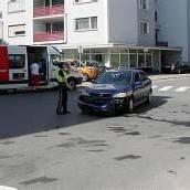 Eine Verletzte bei Kollision auf Dornbirner Kreuzung