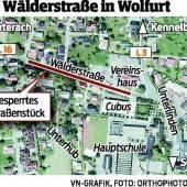 Wolfurter Wälderstraße bis Jahresende gesperrt