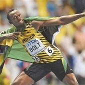 Bei Blitz und Donner holte sich Bolt Gold