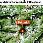 Wanderin am Arlberg tödlich verunglückt