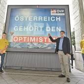 ÖVP um gute Stimmung bemüht