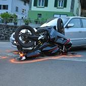 Autofahrer übersah Motorrad
