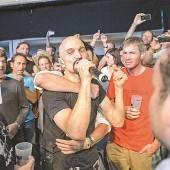 James hautnah beim Poolbar-Festival