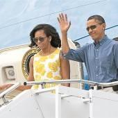 Die Obamas im Urlaub beim Geldadel