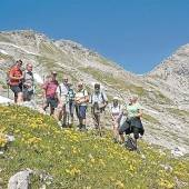 Alpinwanderung
