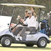 Urlaub auf dem Golfplatz
