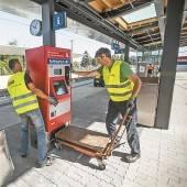 Halbzeit für Verkehrsdrehscheibe Bauphase zwei in Hohenems fertig /A5