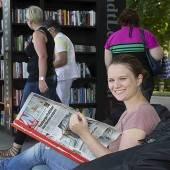StadtLesen Bregenz lädt ins schönste Lesezimmer ein