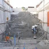 Viel Beton fürs Kraftwerk