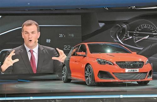 308 R Concept: 270 PS Leistung versprechen Fahrspaß pur.