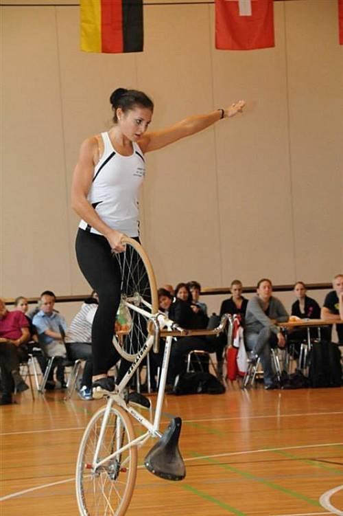 Adriana Mathis präsentierte sich in bestechender Form.  foto: verein