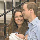 William und Kate aus Wachs