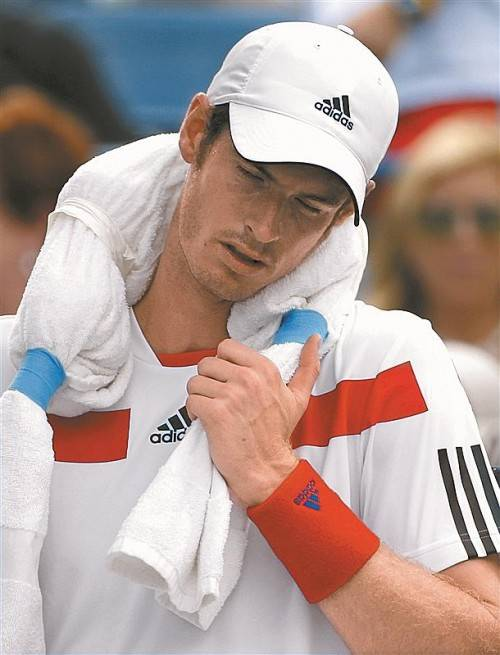 Andy Murray: Pause nach Band-scheiben-Operation. Foto: reuters