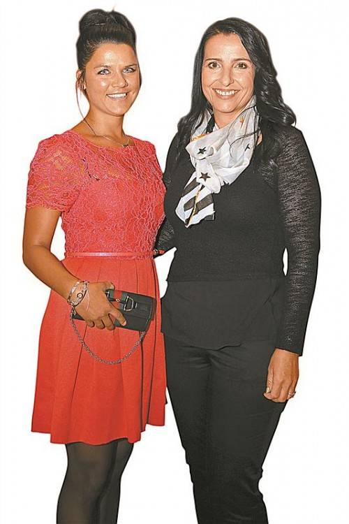 Annette Geser (l.) und Eveline Jutz. FOTOs: VN/B. HOfmeister