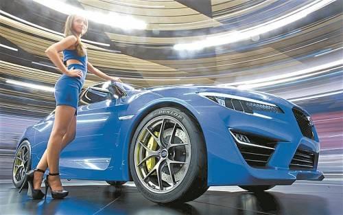 Attraktiver Ausblick: so oder so ähnlich könnte die nächste Auflage des Subaru WRX aussehen.