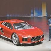 Wahres Premieren-Feuerwerk bei Audi