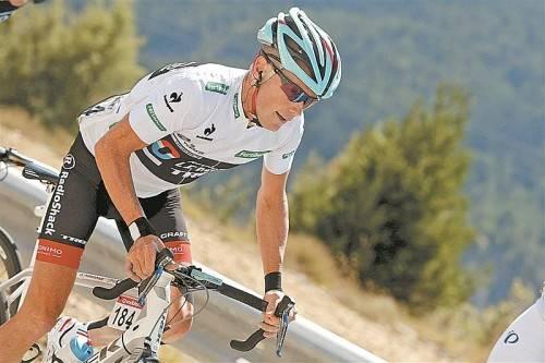 Auf der Jagd nach Vuelta-Leader Nibali: Chris Horner. Foto: apa