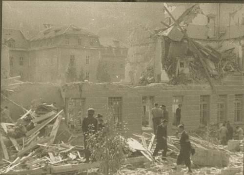 Aus den Trümmern wurden 210 Leichen geborgen. Foto: Stadt Feldkirch