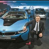 BMW-Prachthalle steht unter Strom