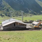 Umbau auf Alpe Unter-Auenfeld