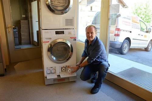 Bei Hannes Sorgo in Au schon zu haben: die neueste Generation von Miele-Waschgeräten. Foto: VN/Scalet