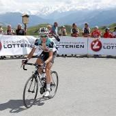 Ein Bruch des Halswirbels bei Vuelta-Sturz