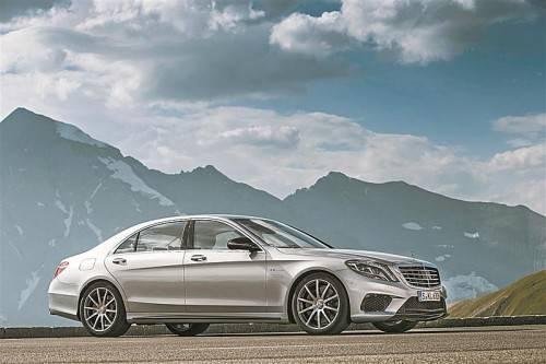 Bis zu 100 Kilo weniger Gewicht und um 41 PS mehr Leistung: Neuer Mercedes S 63 AMG – 585 PS, 900 Nm. Fotos: werk
