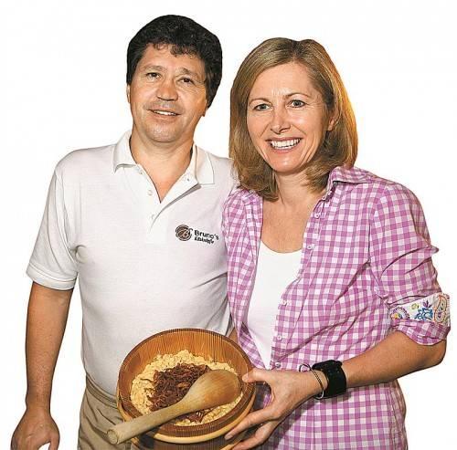 Bruno und Elisabeth Ratz haben im Gasthaus Egender ihre Gäste  17 Jahre lang kulinarisch verwöhnt. Foto: L. Berchtold