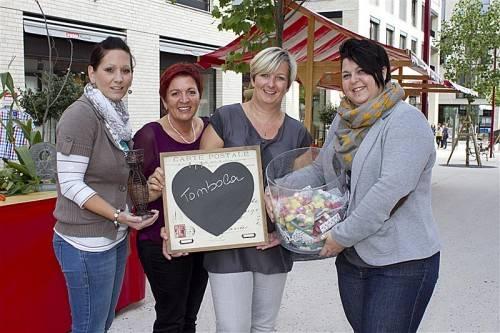 Charity-Organisatorinnen: Nadine Madlener, Simone Böhler, Karin Lamprecht und Nicole Erhard (v. l.).