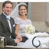 Prinzessin Madeleine erwartet ihr erstes Kind