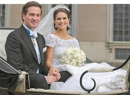 Chris O'Neill und Prinzessin Madeleien können es kaum erwarten, Eltern zu werden. Foto: EPA