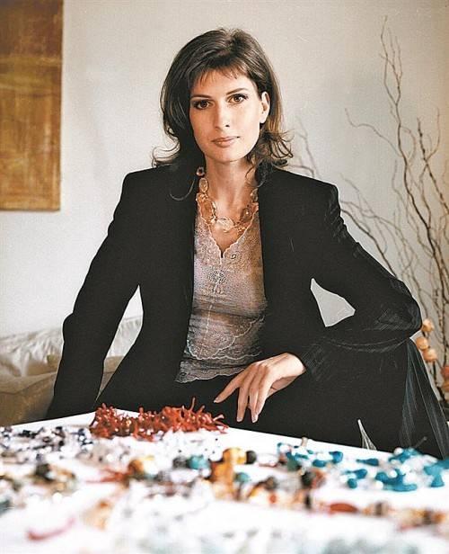 Christin van Geuze in ihrem Atelier in Wien-Währing. Besucher sind willkommen. Foto: L. Hernfeld